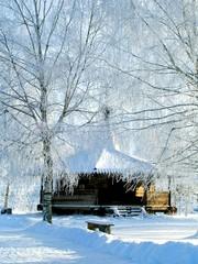 winter. chapel