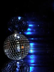mauve disco globe