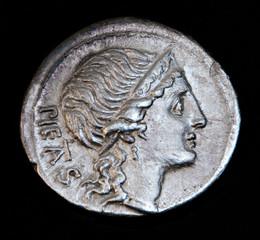 ancient roman coin pietas