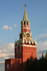 spasskaja tower of kremlin