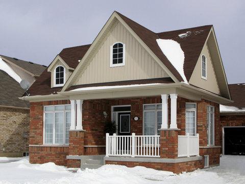 small suburban house