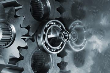 gear-mechanism in duplex color