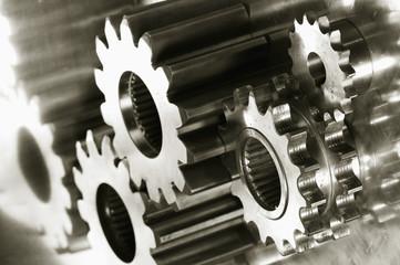 gear-machinery against titanium