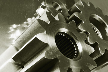 mechanical gear-machinery and titanium