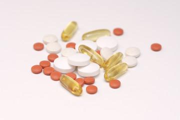 pills and vitamines