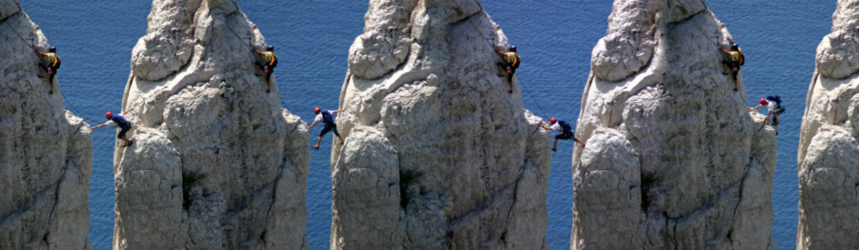 alpinistes à marseille