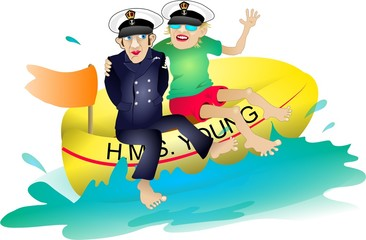h.m.s young