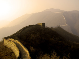 Foto op Plexiglas Chinese Muur great wall of china