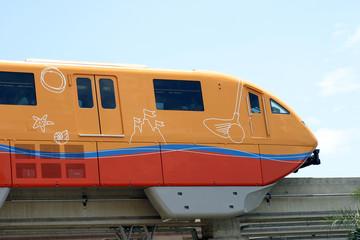 monorail, sentosa, singapore's island resort