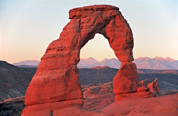 delicate arch, arches national park, utah/arizona