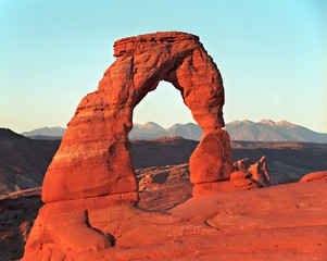 delicate arch, arches national park,utah/arizona