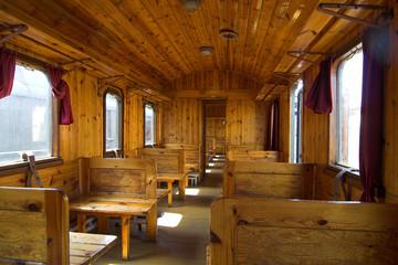 old vagon ( train )