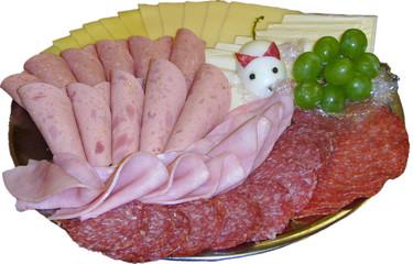 wurst - käse - platte