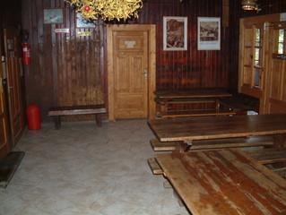 mountain lodge interior