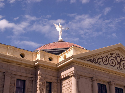 winged victory 2 - az state capitol building