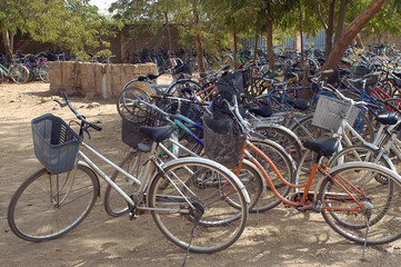 Foto op Plexiglas Fiets les vélos