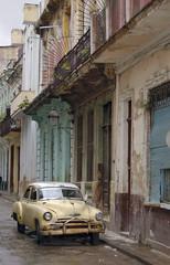 Garden Poster Cars from Cuba havana streets