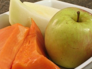 fruits on plate - 1
