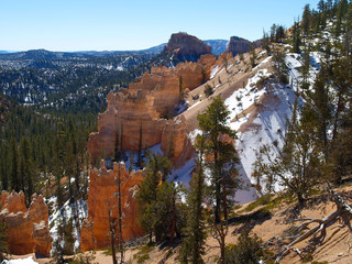 the bryce canyon national park, utah,