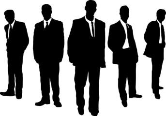 business men gangster