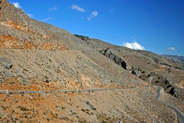 road on crete
