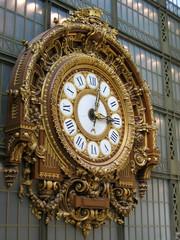 clocks at musee d'orsay