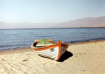 boat on coast