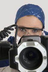 a medical photographer