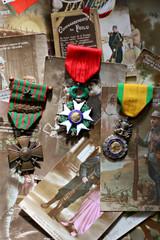 médailles et cartes de voeux