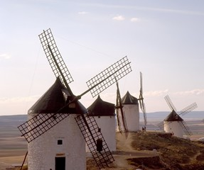 spanish windmills, la mancha 1
