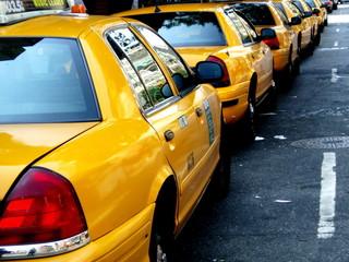 Foto auf AluDibond New York TAXI new york, new york