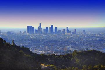 Door stickers Los Angeles los angeles