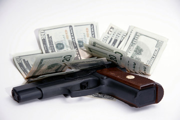 handgun an $