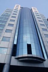 corporate building face