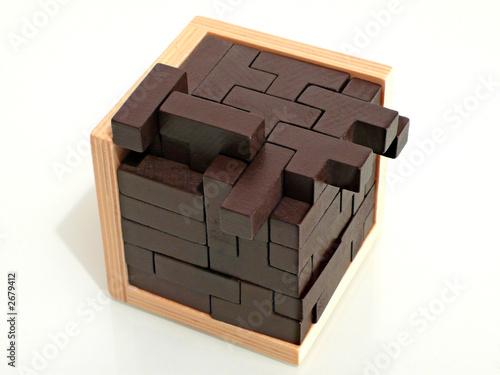 casse-tête tetris cube\