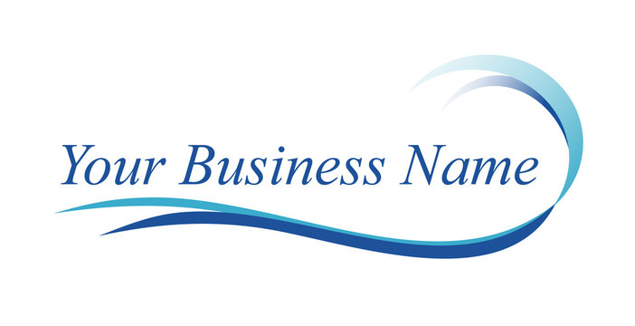 water / ocean logo