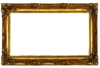 old sculpted golden frame #2
