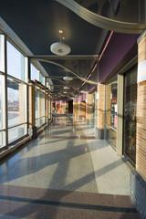lbrary hallway