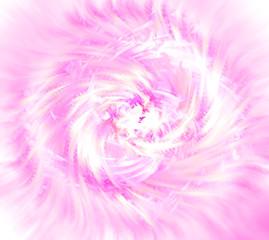 pink ice flower