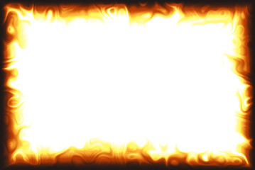 Fototapeta flame border obraz