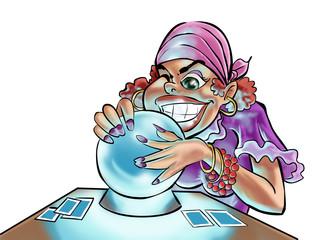 a gypsy woman