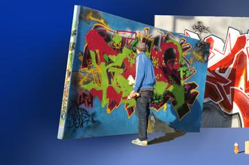 graffiti sprüher