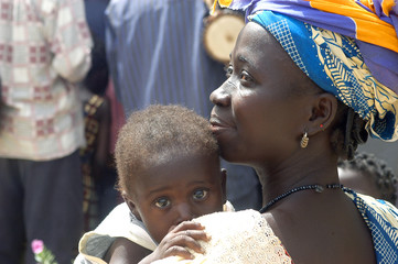 une maman africaine