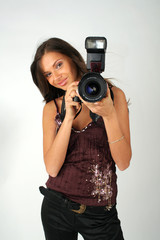 girl - photographer