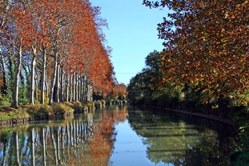 Foto op Canvas Kanaal canal du midi