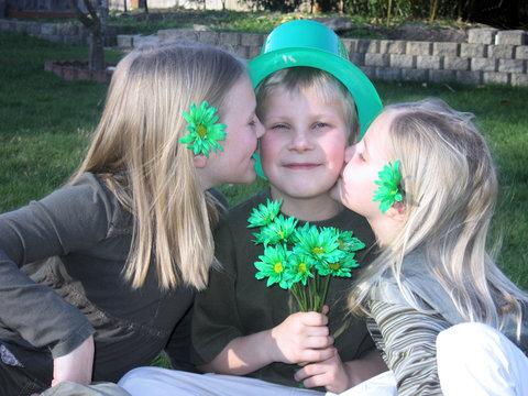 lucky irish man