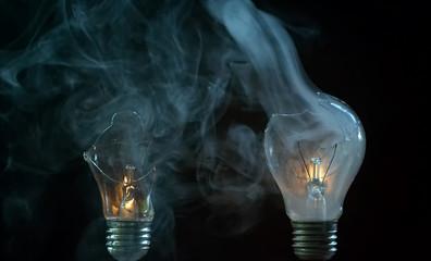 smoking bulbs