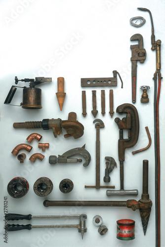 outils du plombier photo libre de droits sur la banque d. Black Bedroom Furniture Sets. Home Design Ideas