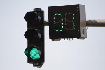 countdown-ampel grün