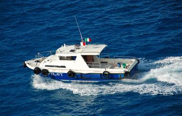 harbor pilot boat